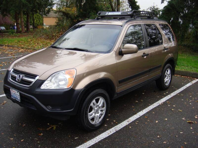 2003 Honda CR-V for sale at Western Auto Brokers in Lynnwood WA