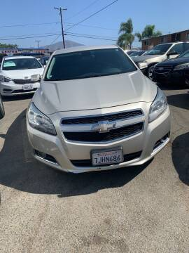 2013 Chevrolet Malibu for sale at GRAND AUTO SALES - CALL or TEXT us at 619-503-3657 in Spring Valley CA