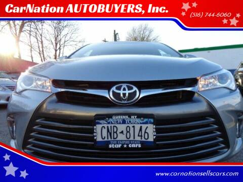 2016 Toyota Camry for sale at CarNation AUTOBUYERS, Inc. in Rockville Centre NY