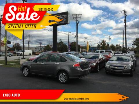 2011 Ford Focus for sale at ENZO AUTO in Parma OH