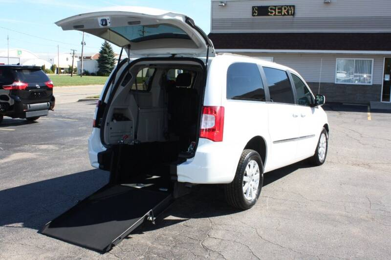 2014 Chrysler Town and Country for sale at New Mobility Solutions in Jackson MI