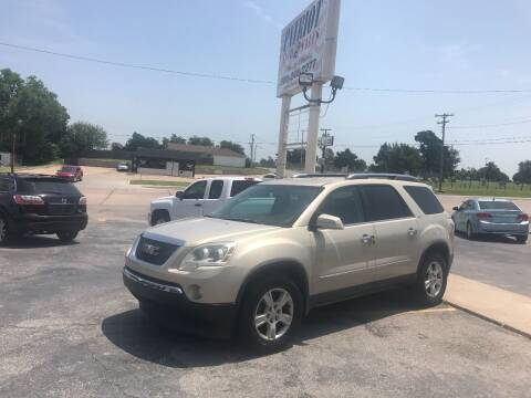 2007 GMC Acadia for sale at Patriot Auto Sales in Lawton OK