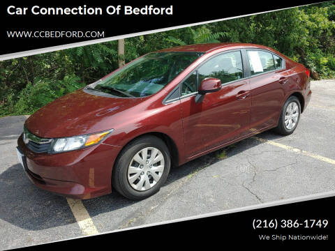 2012 Honda Civic for sale at Car Connection of Bedford in Bedford OH