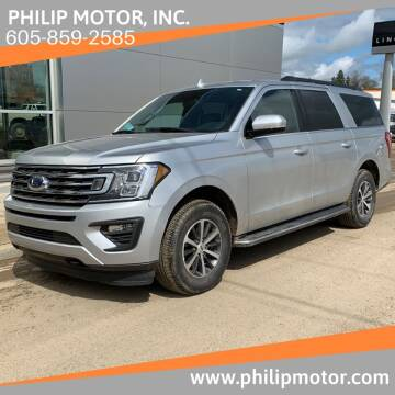 2018 Ford Expedition MAX for sale at Philip Motor Inc in Philip SD
