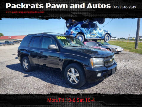 2006 Chevrolet TrailBlazer for sale at Packrats Pawn and Autos in Defiance OH