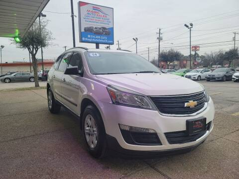 2014 Chevrolet Traverse for sale at Magic Auto Sales in Dallas TX