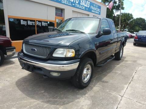 1999 Ford F-150 for sale at QUALITY AUTO SALES OF FLORIDA in New Port Richey FL