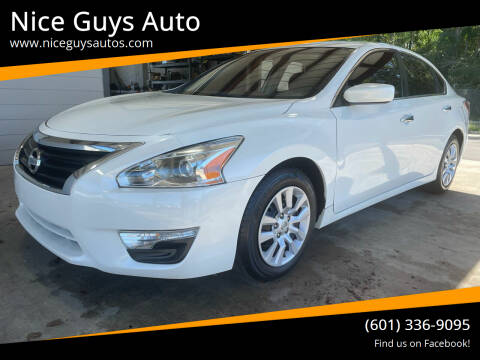 2015 Nissan Altima for sale at Nice Guys Auto in Hattiesburg MS