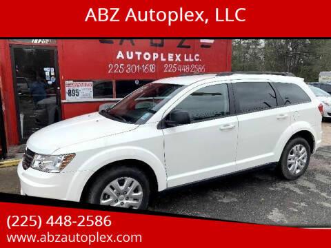 2018 Dodge Journey for sale at ABZ Autoplex, LLC in Baton Rouge LA