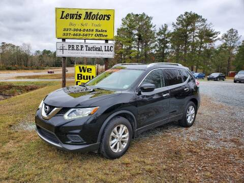 2015 Nissan Rogue for sale at Lewis Motors LLC in Deridder LA