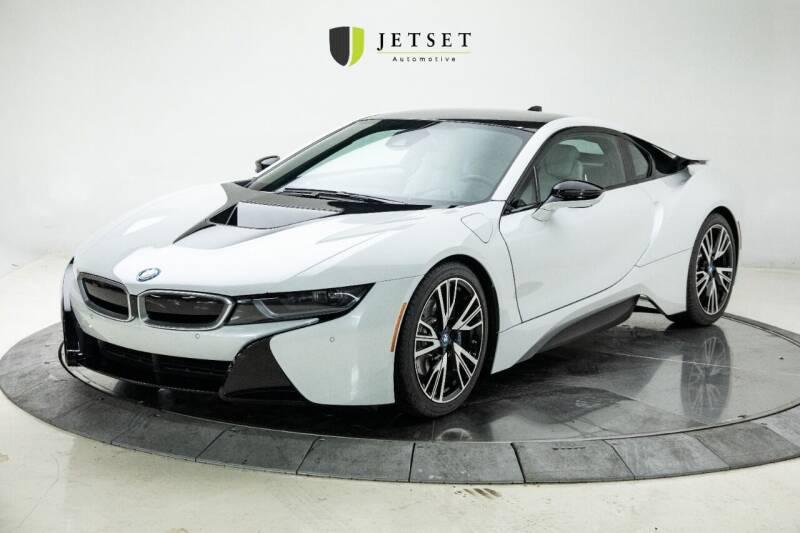 2015 BMW i8 for sale at Jetset Automotive in Cedar Rapids IA