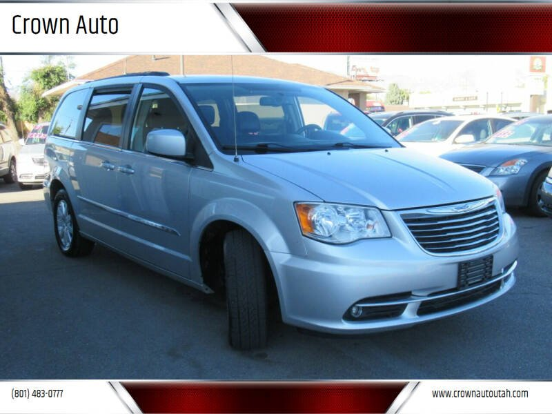 2012 Chrysler Town and Country for sale at Crown Auto in South Salt Lake City UT