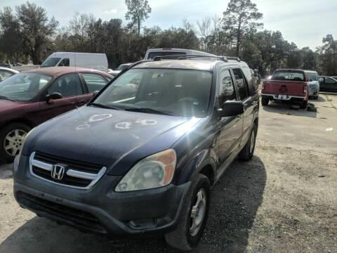 2003 Honda CR-V for sale at Ebert Auto Sales in Valdosta GA
