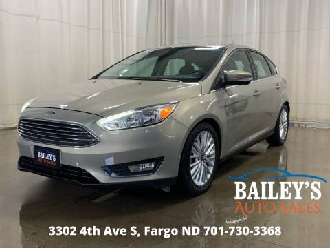 2016 Ford Focus for sale at Bailey's Auto Sales in Fargo ND