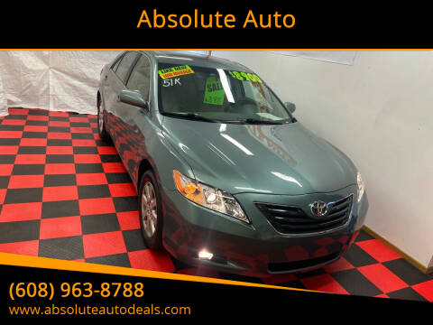 2008 Toyota Camry for sale at Absolute Auto in Baraboo WI