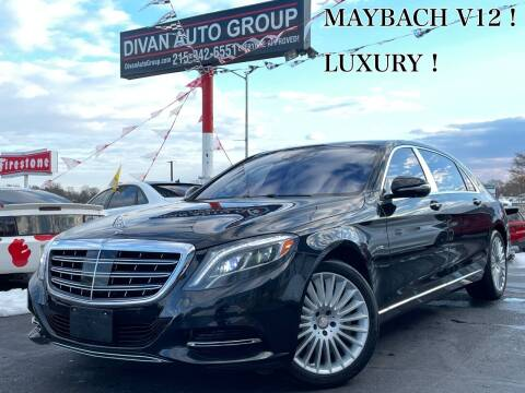 2016 Mercedes-Benz S-Class for sale at Divan Auto Group in Feasterville Trevose PA
