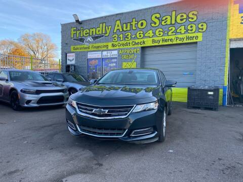 2018 Chevrolet Impala for sale at Friendly Auto Sales in Detroit MI