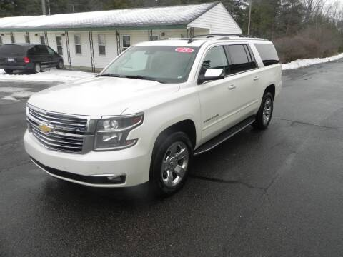 2015 Chevrolet Suburban for sale at Thompson Car Company in Bad Axe MI