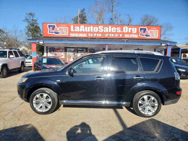 2009 Mitsubishi Outlander for sale at LA Auto Sales in Monroe LA