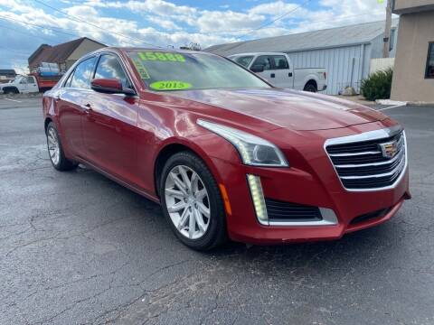 2015 Cadillac CTS for sale at Used Car Factory Sales & Service Troy in Troy OH