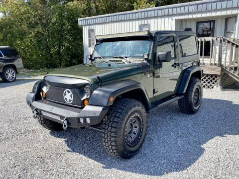 2007 Jeep Wrangler for sale at Dawson's Auto & Truck Sales in Bessemer AL