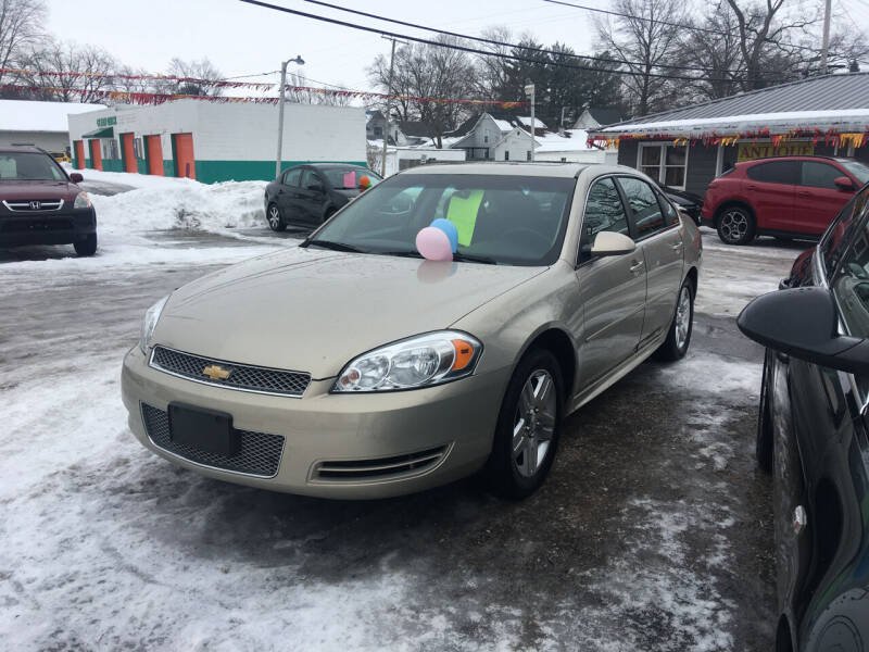 2012 Chevrolet Impala for sale at Antique Motors in Plymouth IN