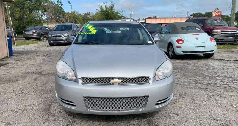 2013 Chevrolet Impala for sale at Auto Mart in North Charleston SC