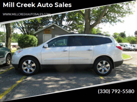 2012 Chevrolet Traverse for sale at Mill Creek Auto Sales in Youngstown OH