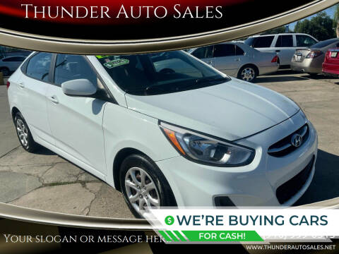 2016 Hyundai Accent for sale at Thunder Auto Sales in Sacramento CA