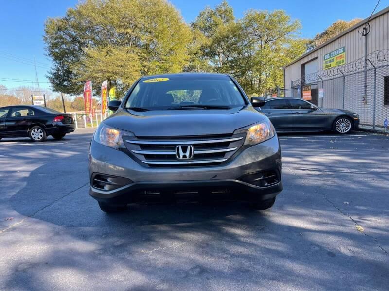 2013 Honda CR-V for sale at BIOS AUTO Used Car Sales in Atlanta GA