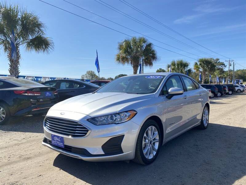 2019 Ford Fusion Hybrid for sale in West Columbia, SC