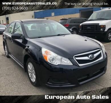 2012 Subaru Legacy for sale at European Auto Sales in Bridgeview IL