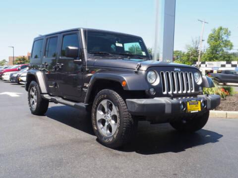 2017 Jeep Wrangler Unlimited for sale at Buhler and Bitter Chrysler Jeep in Hazlet NJ