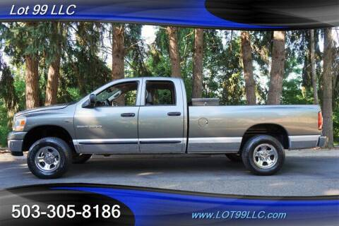 2006 Dodge Ram Pickup 1500 for sale at LOT 99 LLC in Milwaukie OR
