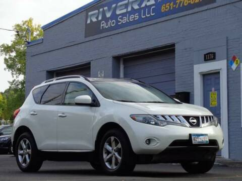 2009 Nissan Murano for sale at Rivera Auto Sales LLC in Saint Paul MN