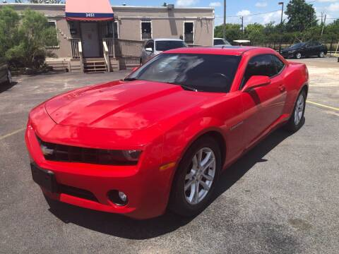2013 Chevrolet Camaro for sale at Saipan Auto Sales in Houston TX