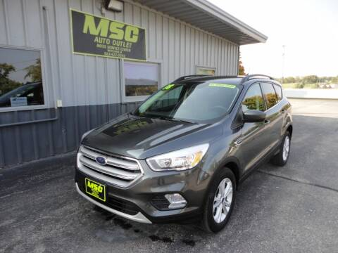 2018 Ford Escape for sale at Moss Service Center-MSC Auto Outlet in West Union IA