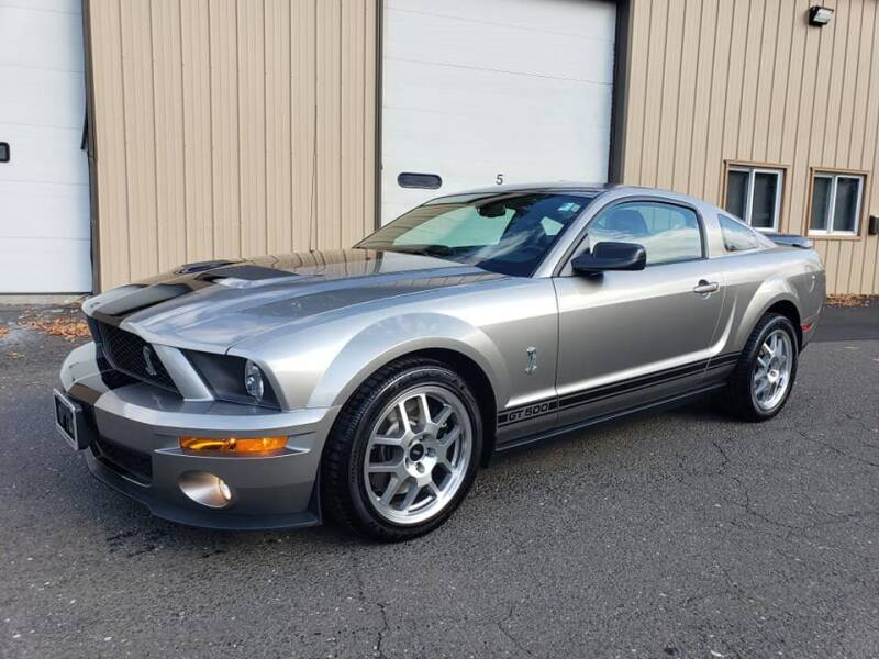 2008 Ford Shelby GT500 for sale at Massirio Enterprises in Middletown CT
