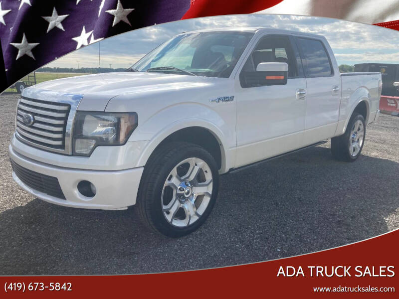 2011 Ford F-150 for sale at Ada Truck Sales in Ada OH