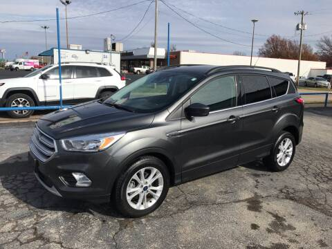 2018 Ford Escape for sale at Superior Used Cars LLC in Claremore OK
