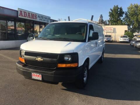 2014 Chevrolet Express Cargo for sale at Adams Auto Sales in Sacramento CA