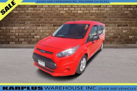 2015 Ford Transit Connect Wagon for sale at Karplus Warehouse in Pacoima CA