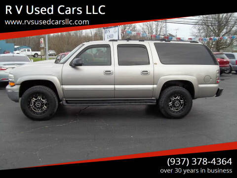 2003 Chevrolet Suburban for sale at R V Used Cars LLC in Georgetown OH