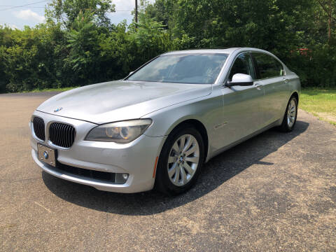 2010 BMW 7 Series for sale at Riley Auto Sales LLC in Nelsonville OH