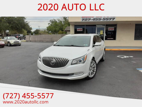 2015 Buick LaCrosse for sale at 2020 AUTO LLC in Clearwater FL