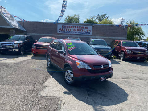 2008 Honda CR-V for sale at Brothers Auto Group in Youngstown OH