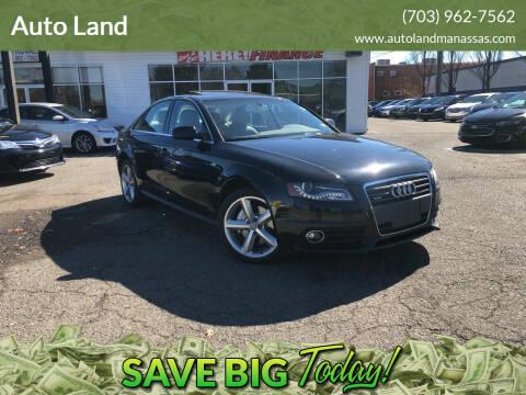 2012 Audi A4 for sale at Auto Land in Manassas VA