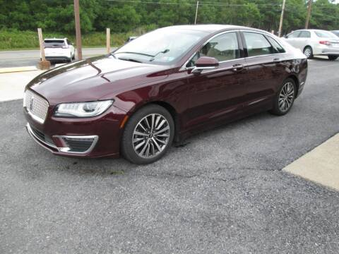 2017 Lincoln MKZ for sale at WORKMAN AUTO INC in Pleasant Gap PA