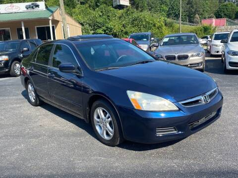 2007 Honda Accord for sale at Luxury Auto Innovations in Flowery Branch GA