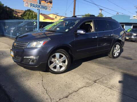 2014 Chevrolet Traverse for sale at 2955 FIRESTONE BLVD in South Gate CA